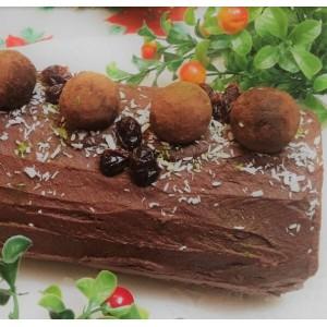 Bûche de Noel (Framboise-Chocolat)