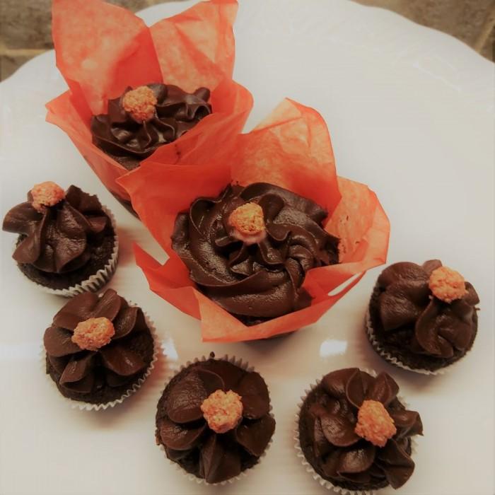 Boîte Cupcakes Red Velvet au chocolat