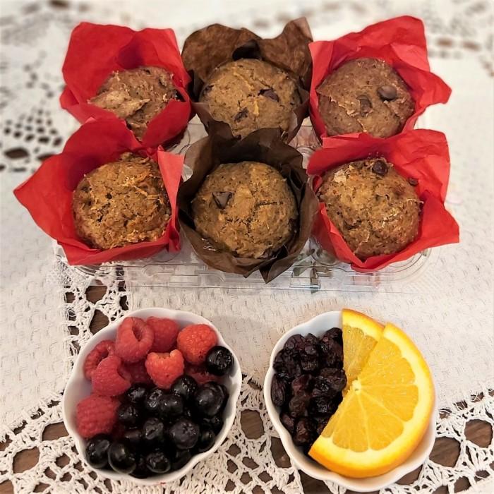 Muffins Santé (végane)